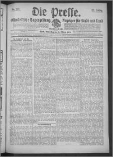 Die Presse 1909, Jg. 27, Nr. 247 Zweites Blatt, Drittes Blatt