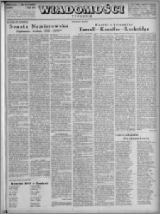 Wiadomości, R. 3, nr 18 (109), 1948