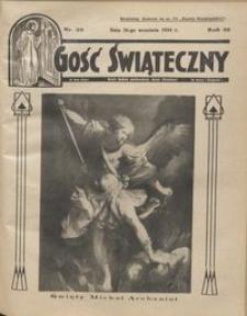 Gość Świąteczny 1934.09.30 R. XXXVIII nr 39
