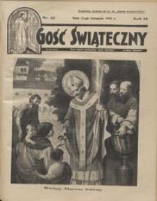 Gość Świąteczny 1934.11.11 R. XXXVIII nr 45