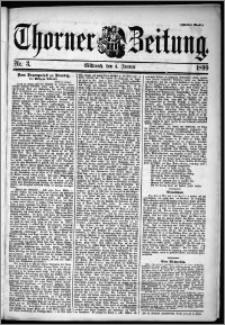 Thorner Zeitung 1899, Nr. 3 Zweites Blatt