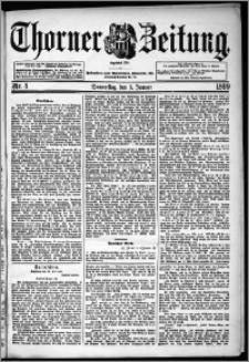 Thorner Zeitung 1899, Nr. 4