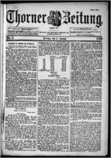 Thorner Zeitung 1899, Nr. 5 Erstes Blatt