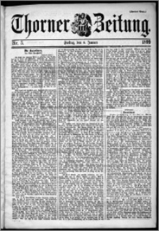 Thorner Zeitung 1899, Nr. 5 Zweites Blatt