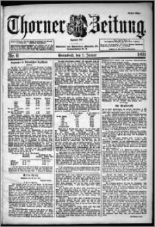 Thorner Zeitung 1899, Nr. 6 Erstes Blatt