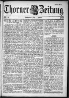 Thorner Zeitung 1899, Nr. 6 Zweites Blatt