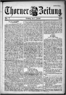 Thorner Zeitung 1899, Nr. 7 Zweites Blatt