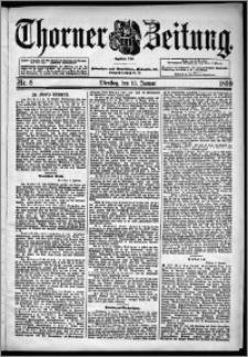 Thorner Zeitung 1899, Nr. 8