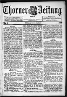Thorner Zeitung 1899, Nr. 9