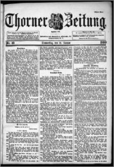 Thorner Zeitung 1899, Nr. 10 Erstes Blatt