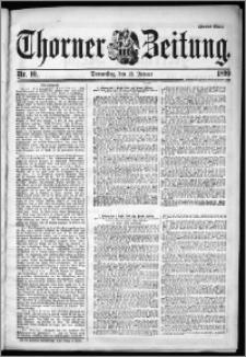 Thorner Zeitung 1899, Nr. 10 Zweites Blatt