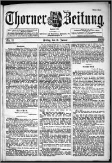 Thorner Zeitung 1899, Nr. 11 Erstes Blatt