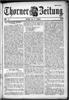 Thorner Zeitung 1899, Nr. 11 Zweites Blatt
