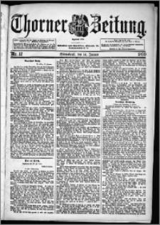 Thorner Zeitung 1899, Nr. 12