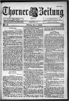 Thorner Zeitung 1899, Nr. 13 Erstes Blatt