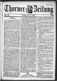 Thorner Zeitung 1899, Nr. 13 Zweites Blatt
