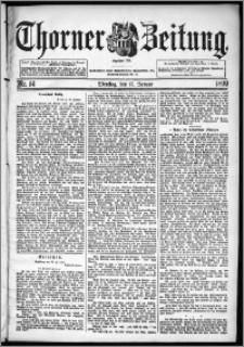 Thorner Zeitung 1899, Nr. 14