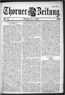 Thorner Zeitung 1899, Nr. 15 Zweites Blatt