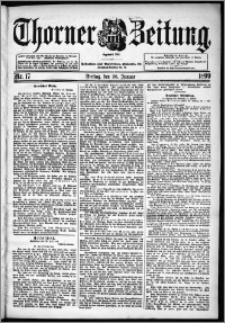 Thorner Zeitung 1899, Nr. 17
