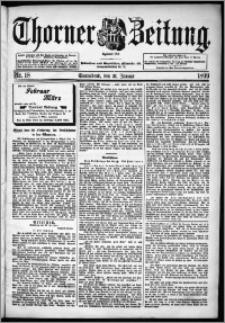 Thorner Zeitung 1899, Nr. 18