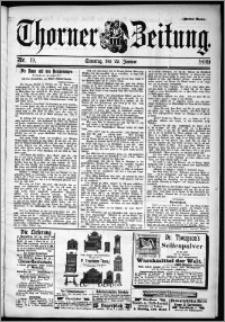 Thorner Zeitung 1899, Nr. 19 Zweites Blatt