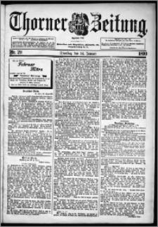Thorner Zeitung 1899, Nr. 20