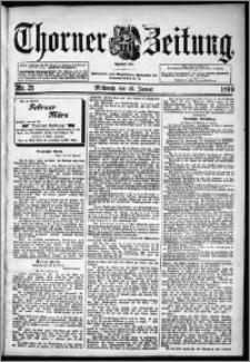Thorner Zeitung 1899, Nr. 21