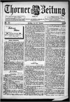 Thorner Zeitung 1899, Nr. 23