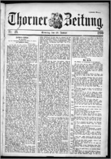 Thorner Zeitung 1899, Nr. 25 Zweites Blatt