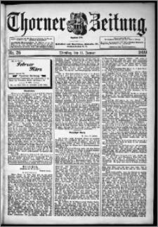 Thorner Zeitung 1899, Nr. 26