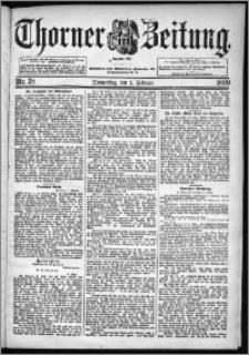 Thorner Zeitung 1899, Nr. 28