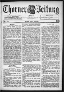 Thorner Zeitung 1899, Nr. 29
