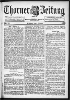 Thorner Zeitung 1899, Nr. 33