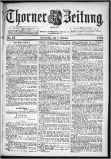 Thorner Zeitung 1899, Nr. 34