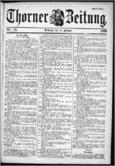 Thorner Zeitung 1899, Nr. 39 Zweites Blatt