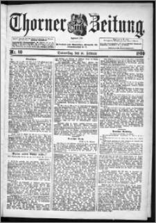 Thorner Zeitung 1899, Nr. 40
