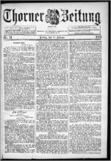 Thorner Zeitung 1899, Nr. 41