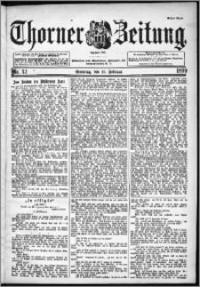 Thorner Zeitung 1899, Nr. 43 Erstes Blatt