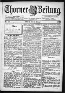 Thorner Zeitung 1899, Nr. 45