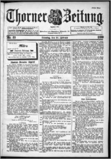 Thorner Zeitung 1899, Nr. 49 Erstes Blatt