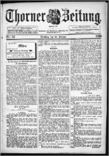 Thorner Zeitung 1899, Nr. 50