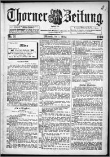 Thorner Zeitung 1899, Nr. 51