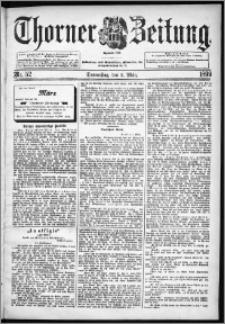 Thorner Zeitung 1899, Nr. 52