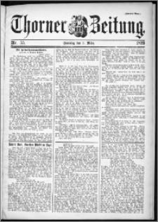 Thorner Zeitung 1899, Nr. 55 Zweites Blatt