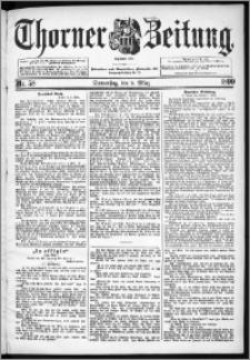 Thorner Zeitung 1899, Nr. 58