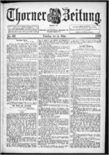 Thorner Zeitung 1899, Nr. 62