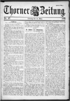 Thorner Zeitung 1899, Nr. 67 Zweites Blatt