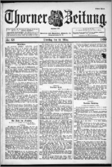 Thorner Zeitung 1899, Nr. 68 Erstes Blatt