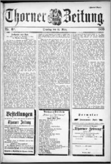 Thorner Zeitung 1899, Nr. 68 Zweites Blatt