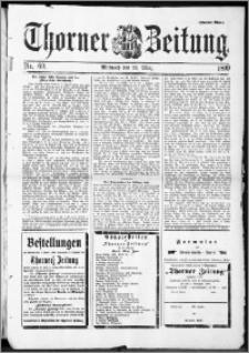 Thorner Zeitung 1899, Nr. 69 Zweites Blatt